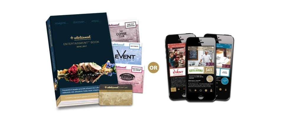 entertainment book membership book or mobile copy image