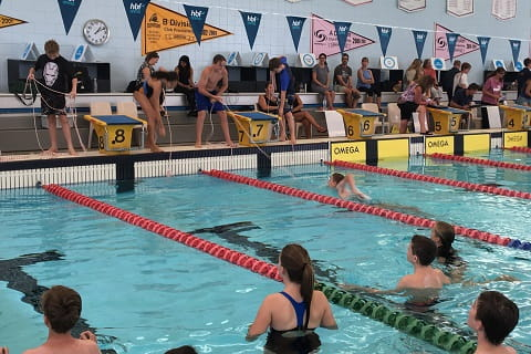 line throw event at LJBC swimming & lifesaving carnival 2019
