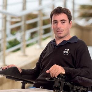Paraplegic Benefit Fund's Matt Naysmith