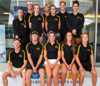 WA's team on the podium at the National Championships
