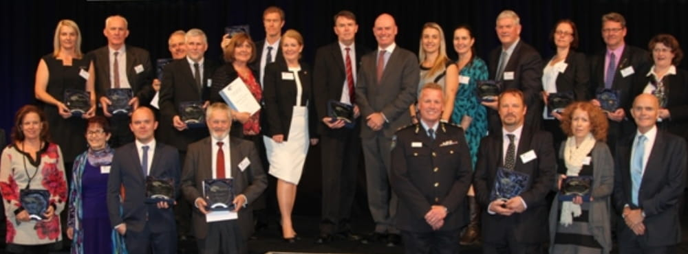Winners of the 2015 Institute of Public Administration Australia WA Achievement Awards
