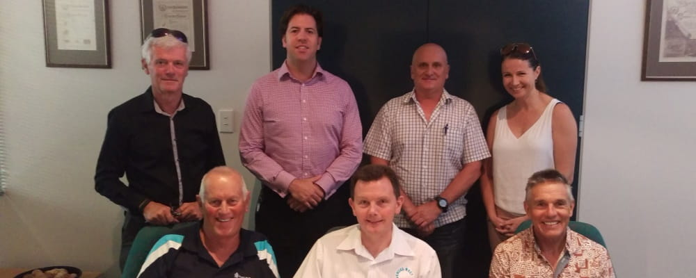 Board members of Royal Life Saving Society WA at their monthly board meeting
