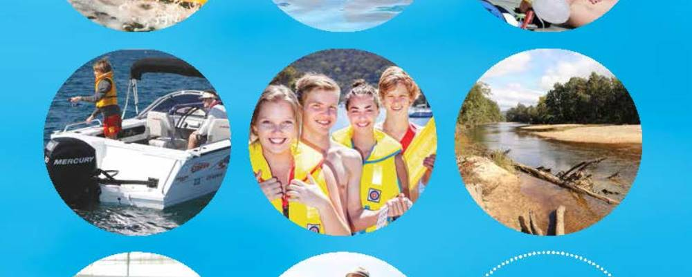 images from front cover of Australian Water Safety Strategy