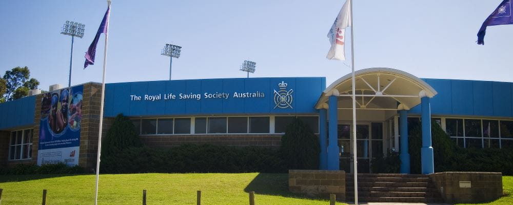 Image of the front of the Royal Life Saving WA head office