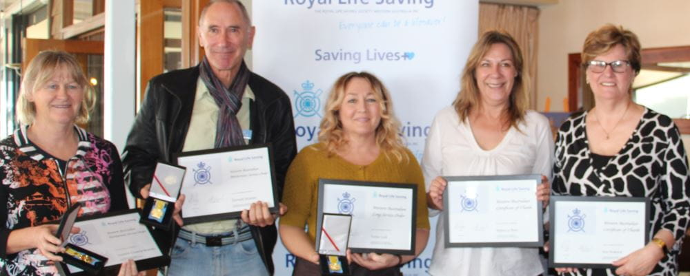 Five community trainers awarded at special breakfast event