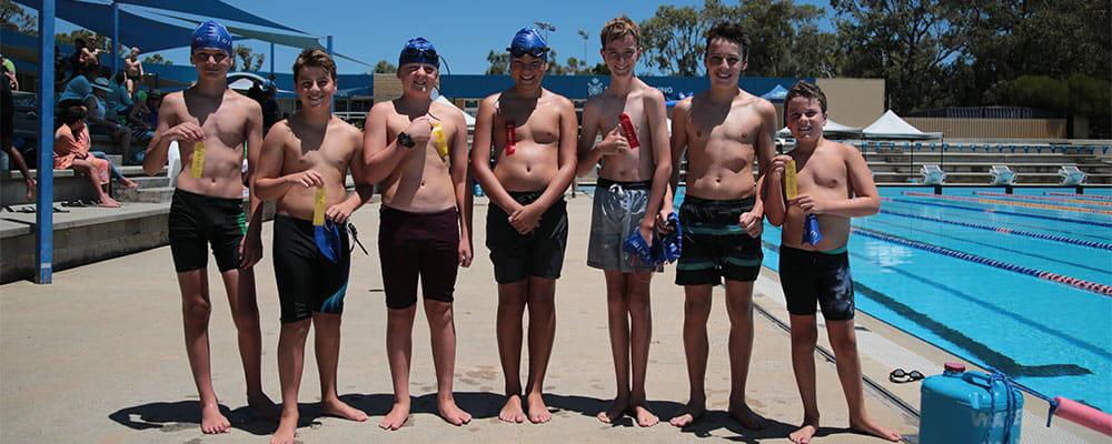 Junior Lifeguard Club participants