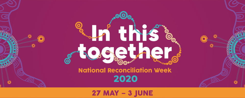In This Together National Reconciliation Week logo