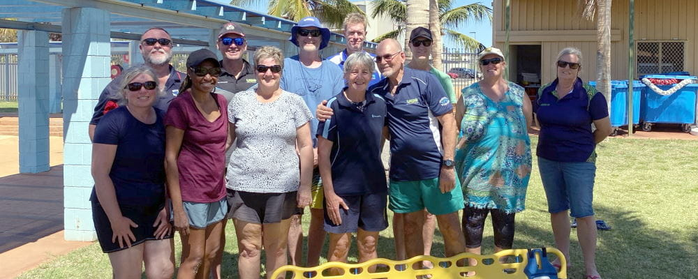 Remote Pool Managers gathered in Port Hedland for a training session ahead of the new pool season