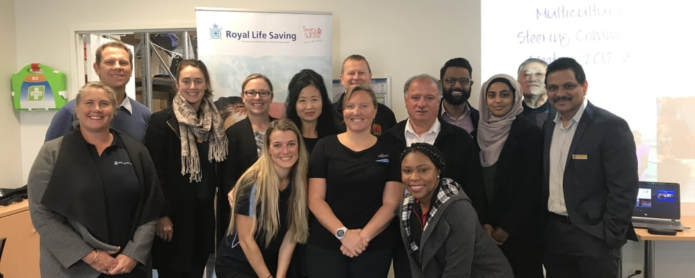The bi-annual meeting of the Royal Life Saving Society WA Multicultural Steering Committee