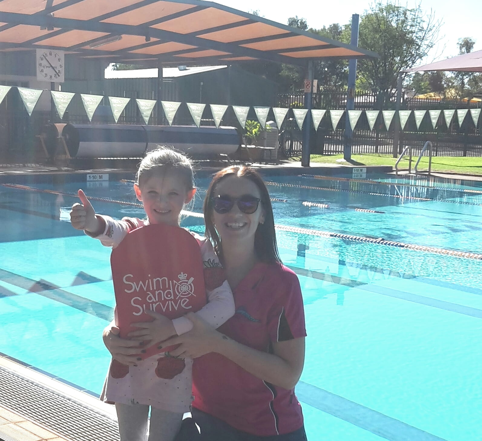 Izzy and Peta Newman Aquatic Centre Swim and Survive Fund