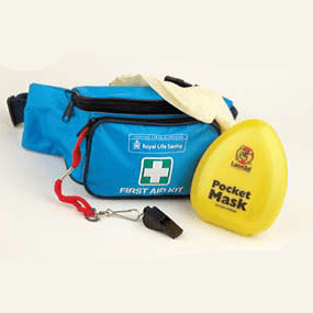 Lifeguard first aid bumbag sidebar image