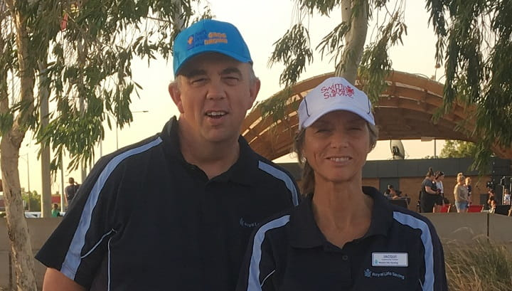 Tim Turner and Jacqui Forbes at Welcome to Hedland 2019