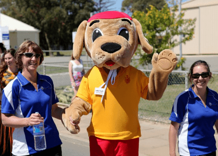 Walter the Watch Dog - mascot for the Watch Around Water program