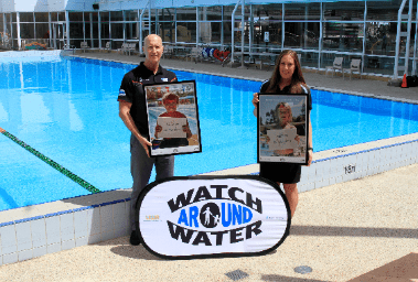 Tony Head and Lauren Nimmo at a Watch Around Water Week Launch Event